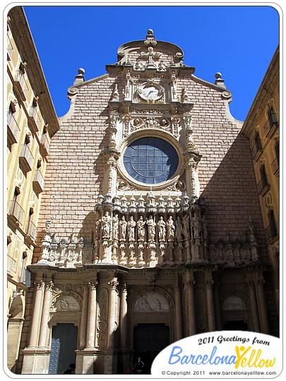 Basilica de Montserrat monastery