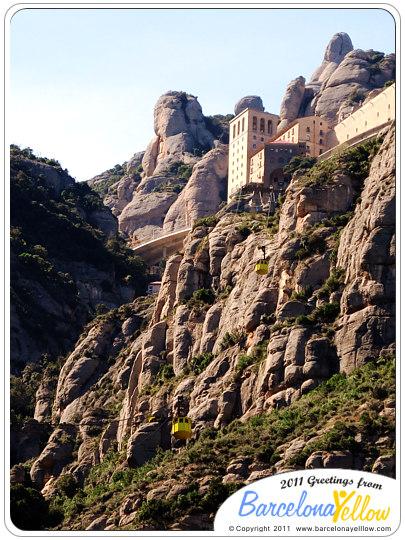 Montserrat Aeri cable car