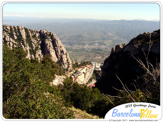 Montserrat monastery views