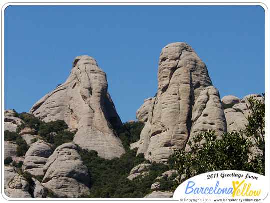 Montserrat rock formations