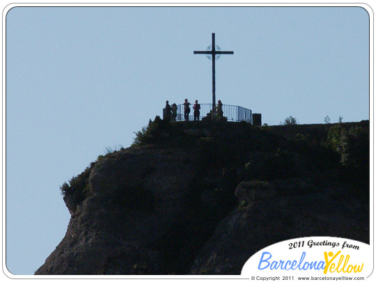 Montserrat mirador cross