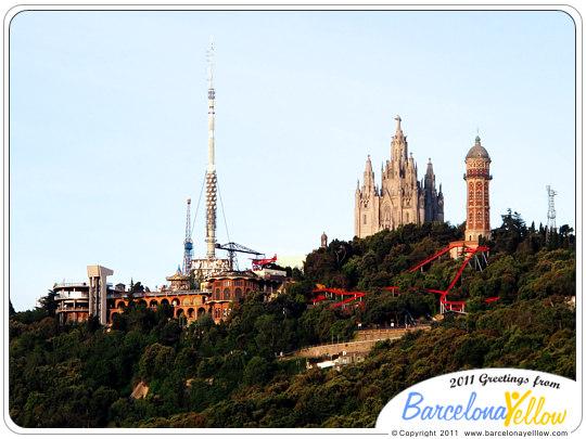 Tibidabo Barcelona Spain Tibidabo Barcelona