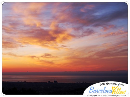 Sunrise Barcelona