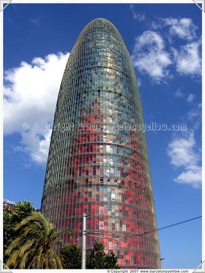Agbar Tower - Torre Agbar Barcelona