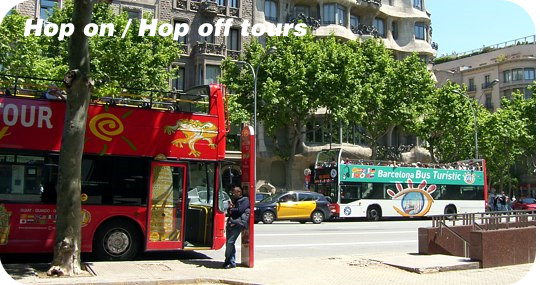 Hop on Hop off buses Barcelona
