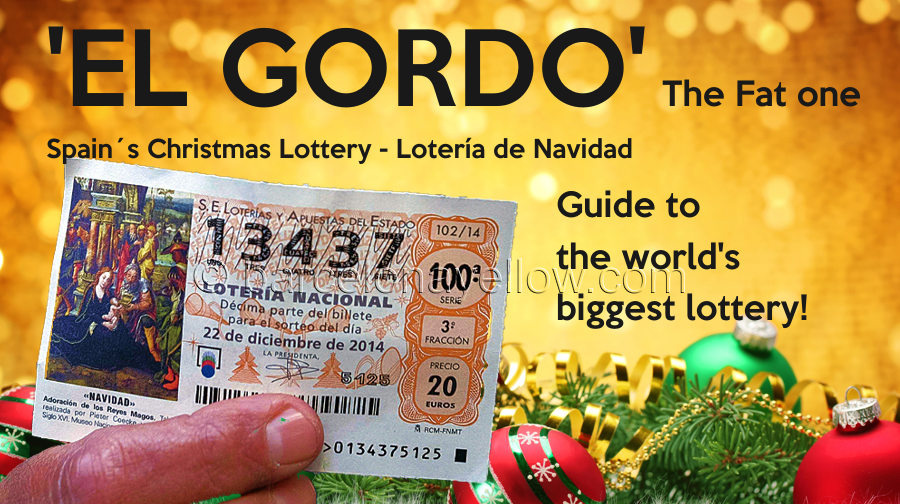 El Gordo lottery ticket Spain