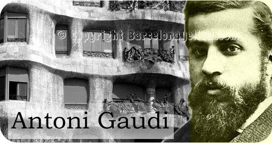 Antoni Plàcid Guillem Gaudí i Cornet - Passeig de Gracia