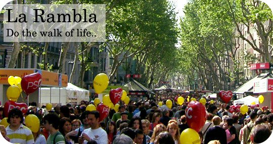 La Rambla Barcelona