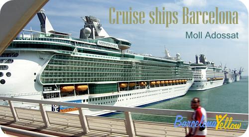 Barcelona cruise ships
