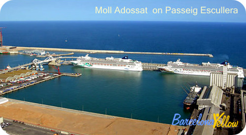 Terminals A, B, C, D on Moll Adossat