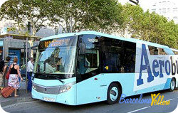 Barcelona airport bus