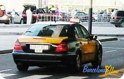 Barcelona airport taxis
