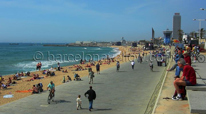 Nova Icaria beach Barcelona