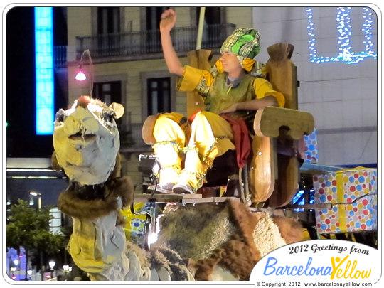 La Cabalgata de Reyes Camels