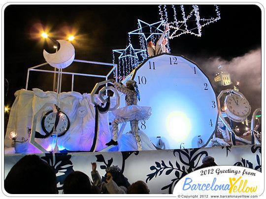 La Cabalgata de Reyes Magos clock - Gran Rellotge
