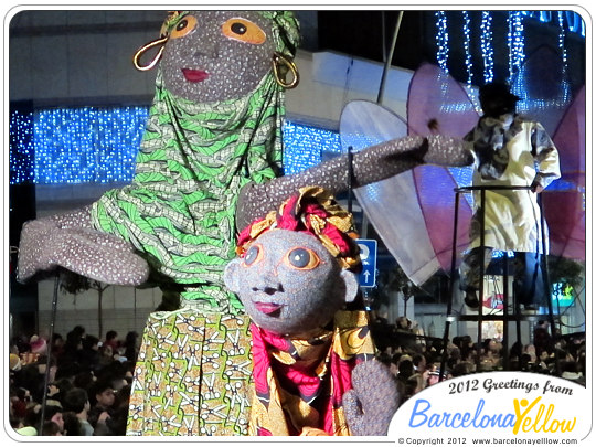 La Cabalgata de Reyes dolls