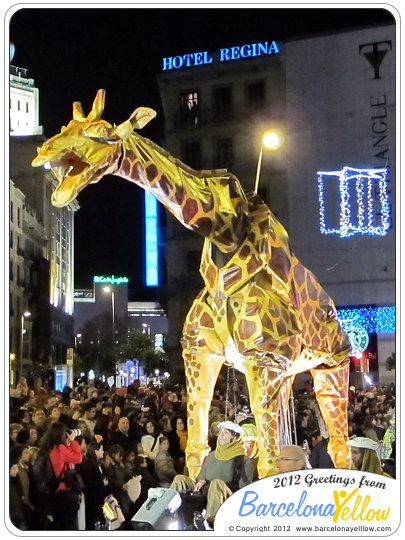Kings Parade - Twiga the giraffe
