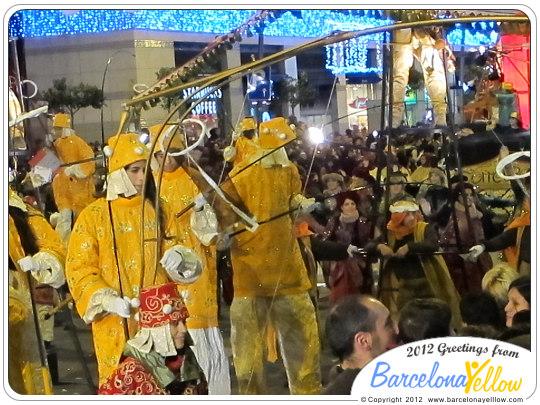 La Cabalgata de Reyes Magos - carters reials