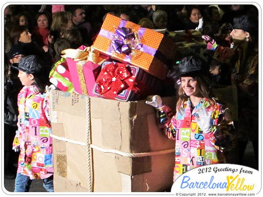 La Cabalgata de Reyes regals toys