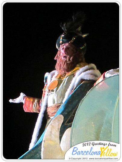 La Cabalgata de Reyes Magos - El Rei Gaspar
