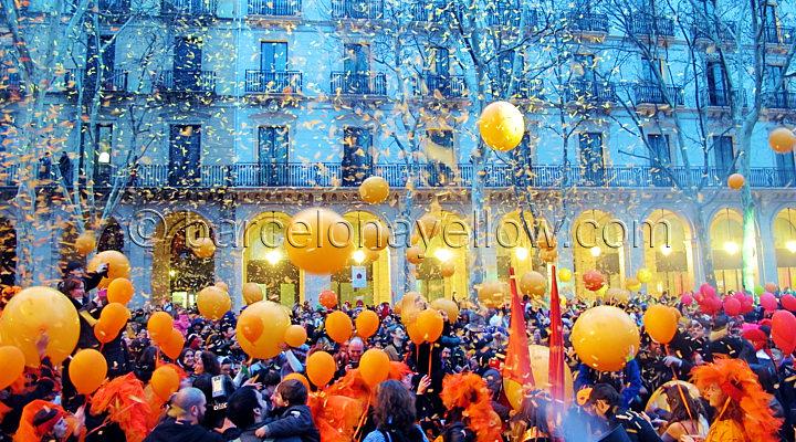 La Taronjada Barcelona Carnival