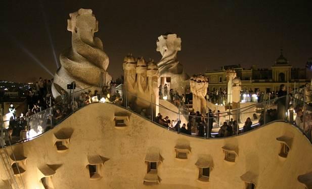 Rooftop concerts La Pedrera Barcelona