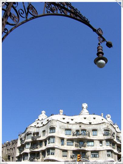 Casa Mila La Pedrera by Gaudi