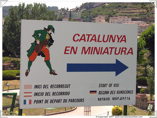 Miniature Catalunya
