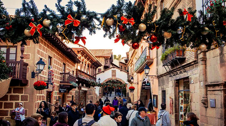 Christmas Festival Poble Espanyol