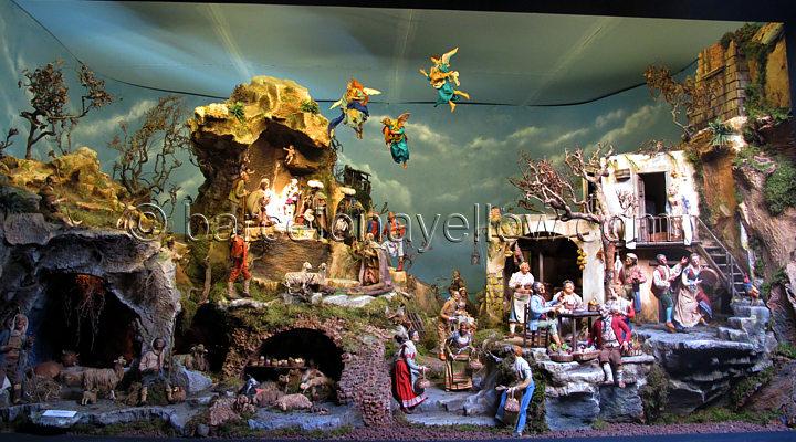 Christmas crib scene Barcelona