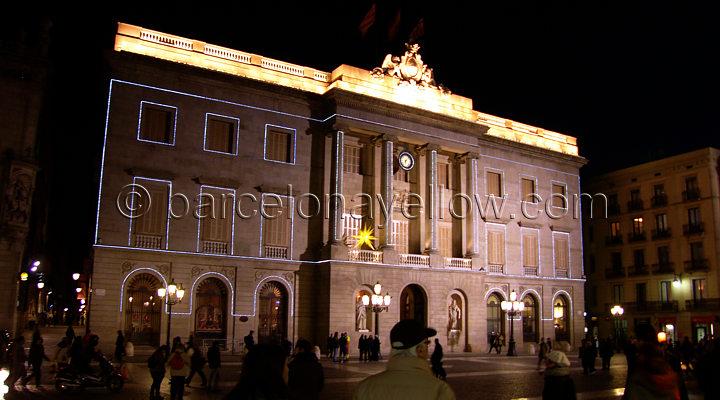 barcelona_plaza_sant_jaume_christmas