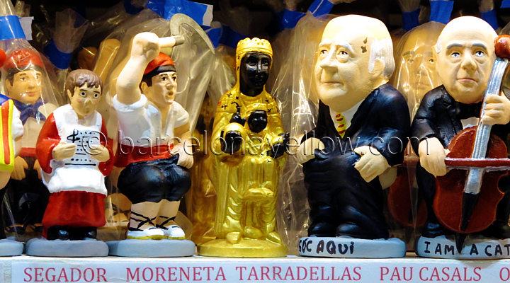 Virgin Montserrat Caganer