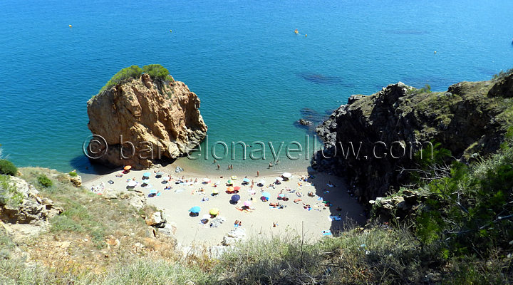 Costa Brava nudist beaches near Begur