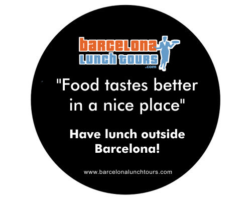 Have lunch outside Barcelona - Barcelona lunch tours.