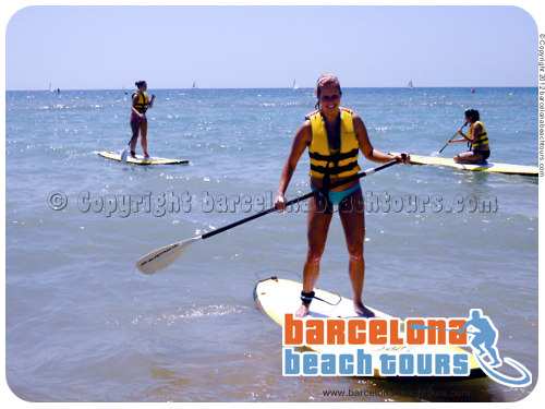 SUP Barcelona rent boards