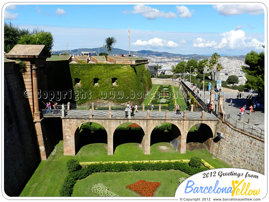 montjuic castle how to get there