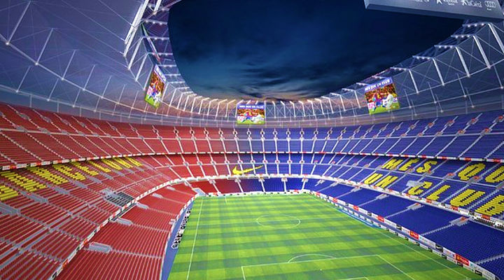 New Camp Nou stadium Barcelona