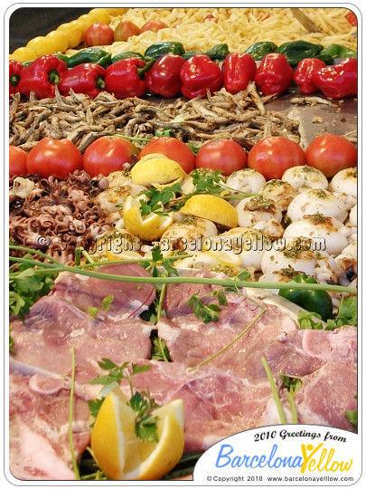Feria Abril Barcelona food