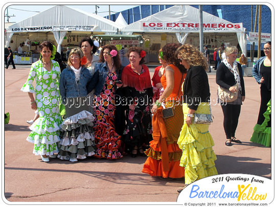 Feria abril Barcelona 