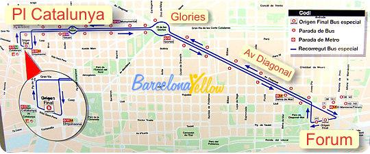 Bus feria abril barcelona