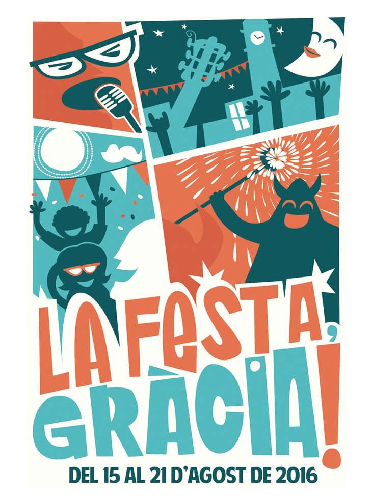 Cartell Festa Gracia 2016