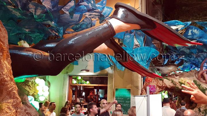 festa_gracia_2016_diver_feet