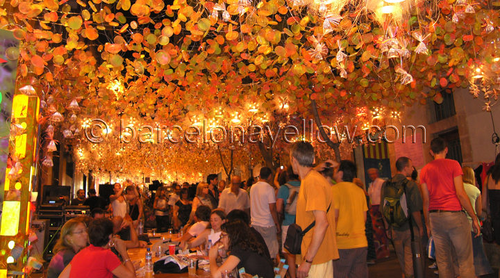 Gracia street Festival Barcelona