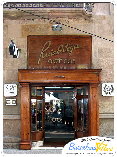 Fira Modernista Barcelona Ruiz Ortega opticos