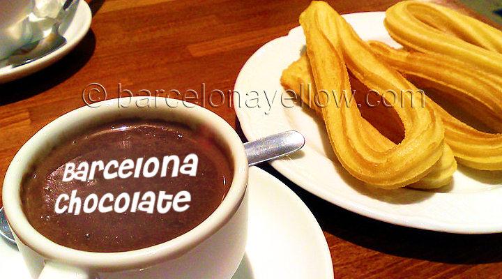 Barcelona chocolate shops