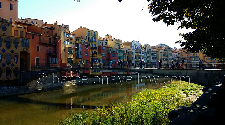 Hanging houses Girona Spain