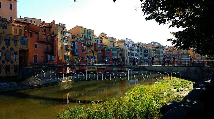 Hanging houses Girona Spain