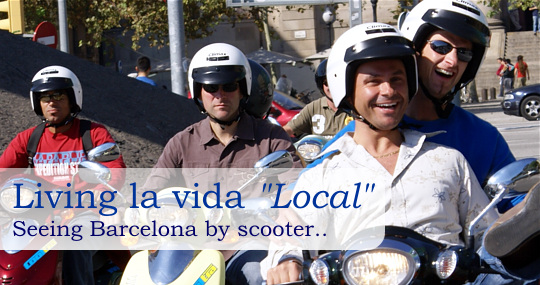 Cooltra scooter rentals in Barcelona