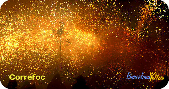 La Merce Festival Barcelona Correfoc firerun