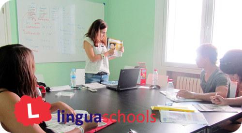 Linguaschools Barcelona classrooms